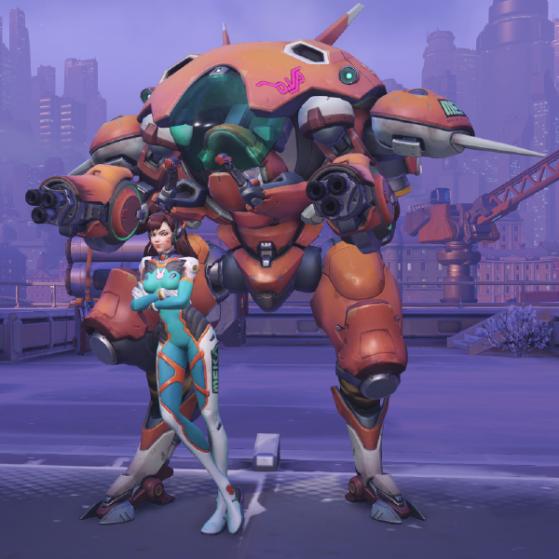 Mandarine - Overwatch