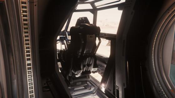 L'avant du cockpit - Star Citizen