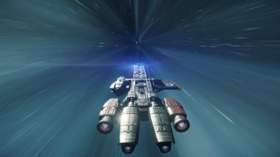 De derrière en voyage quantique - Star Citizen