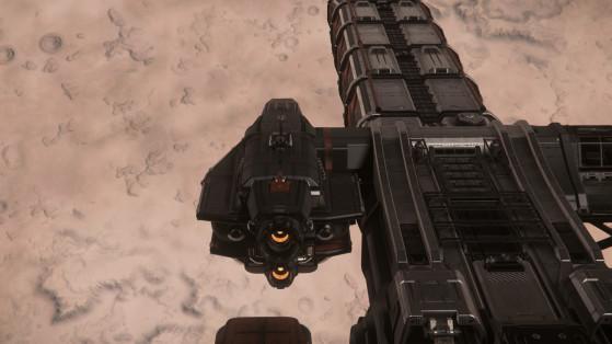 Le module de pilotage de derrière - Star Citizen
