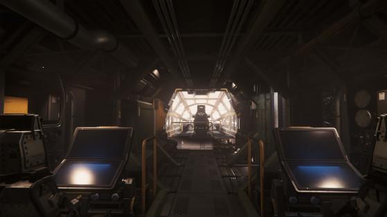 Le premier étage du module de commandement - Star Citizen
