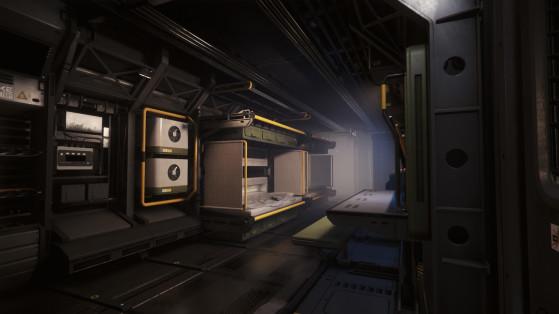 Le rez de chaussée du module de commandement - Star Citizen