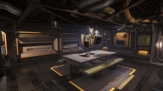la zone vie de l'équipage - Star Citizen
