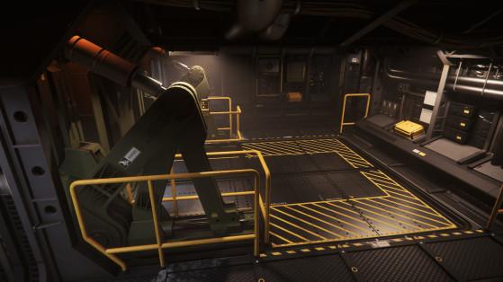 L'ascenseur d'accès principal, de l'intérieur - Star Citizen