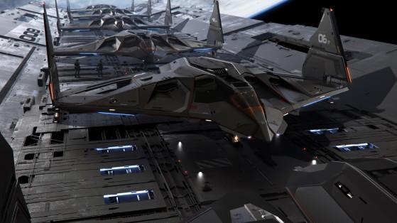 Escadrille prête au décollage - Star Citizen