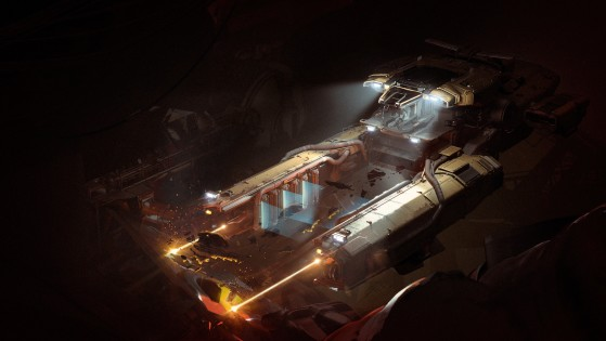 En action de recyclage - Star Citizen
