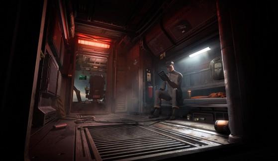 La zone vie derrière la cabine de pilotage - Star Citizen