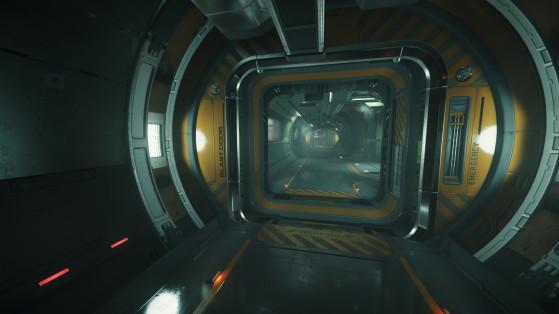 Couloirs à l'intérieur - Star Citizen
