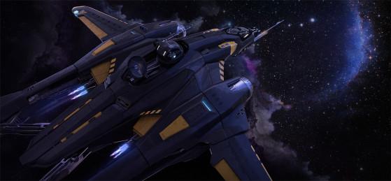 Sentinel en vol - Star Citizen