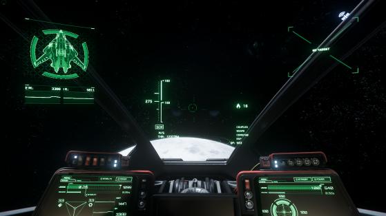 Vue du pilote - Star Citizen