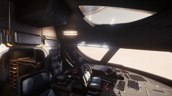 Le cockpit - Star Citizen