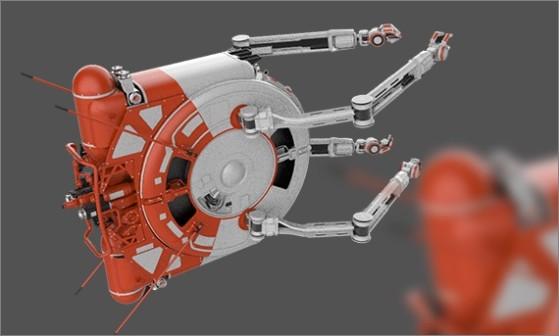 Drone du Vulcan - Star Citizen