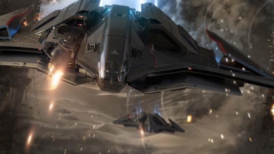 Ares Inferno en action - Star Citizen