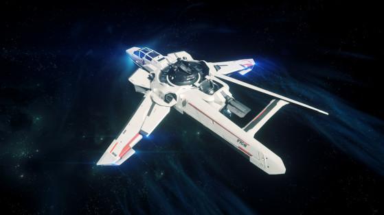 Entrée en voyage quantique - Star Citizen