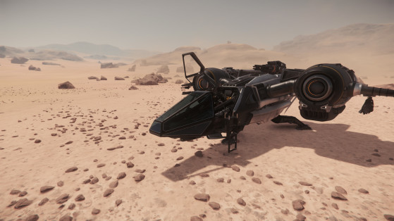 L'accès au cockpit - Star Citizen
