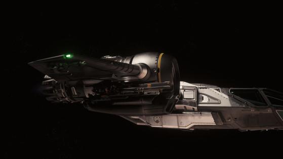 Canons sous les ailes - Star Citizen