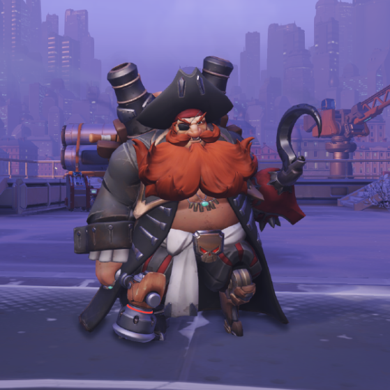 Barbe Rousse - Overwatch