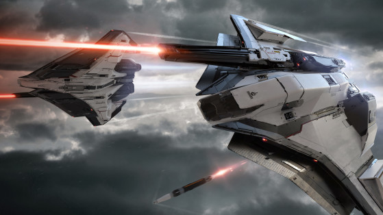 Ares Ion en action - Star Citizen