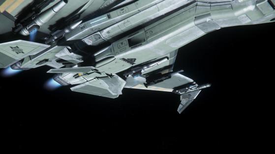 Points d'emports sous les ailes - Star Citizen