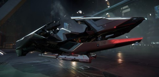 Le Nox Kue au garage - Star Citizen