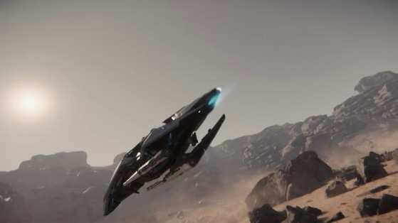 Petit rallye sur Daymar - Star Citizen