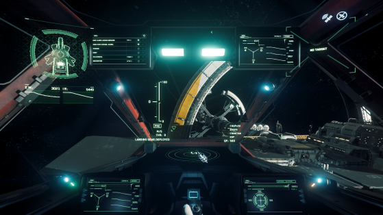 La vue du pilote - Star Citizen