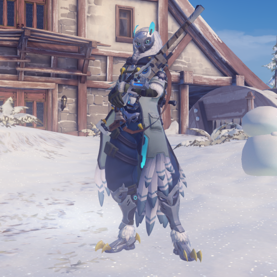 Chouette Blanche (Féerie Hivernale) - Overwatch