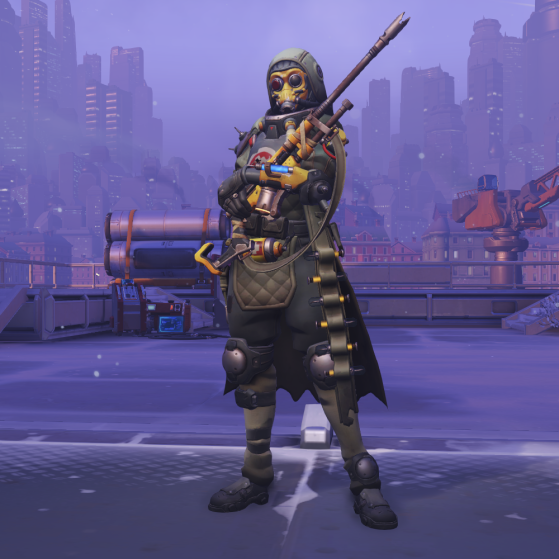Désert - Overwatch