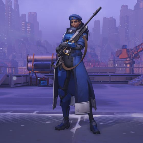 Capitaine Amari - Overwatch