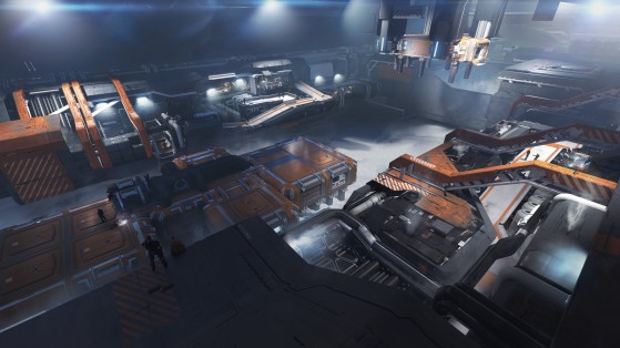La ligne d'assemblage interne - Star Citizen