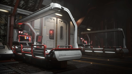 Lits médicaux du Cutlass red - Star Citizen