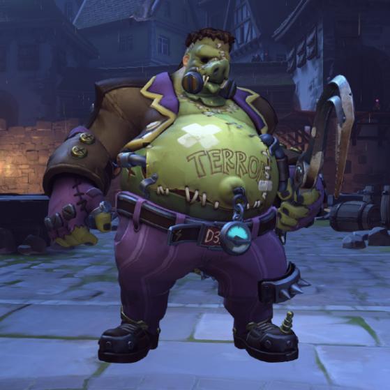 Monstre de Schakalstein (Halloween) - Overwatch
