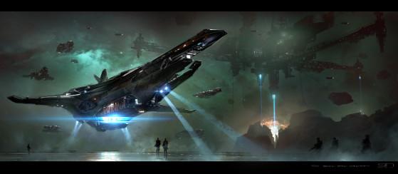 En vol (concept) - Star Citizen