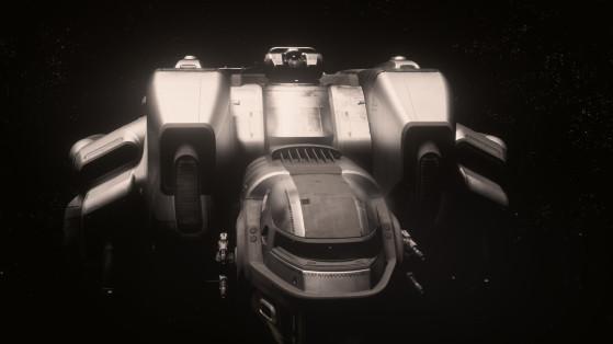 Un vaisseau impressionnant de face - Star Citizen