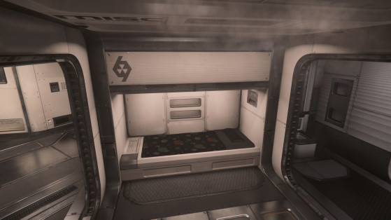 La cabine du capitaine - Star Citizen