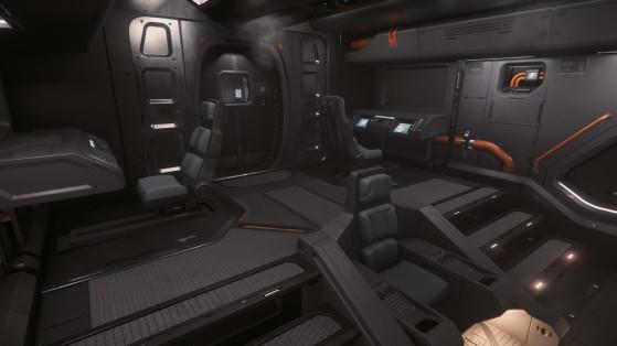 Le cockpit pour 5 personnes - Star Citizen