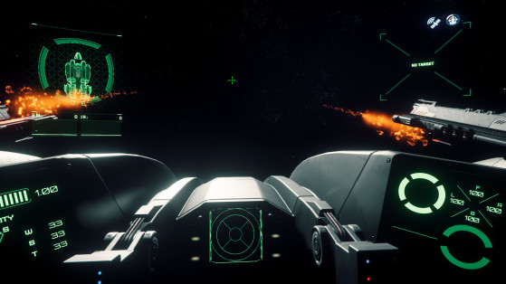 La tourelle principale en action - Star Citizen