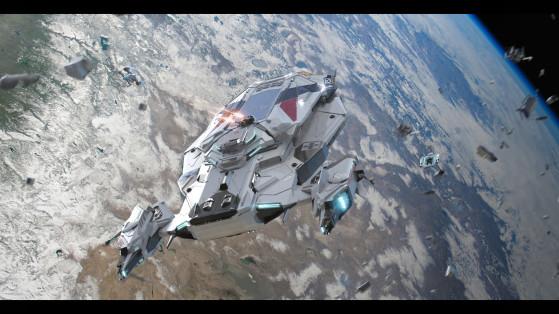 L'Apollo en action - Star Citizen
