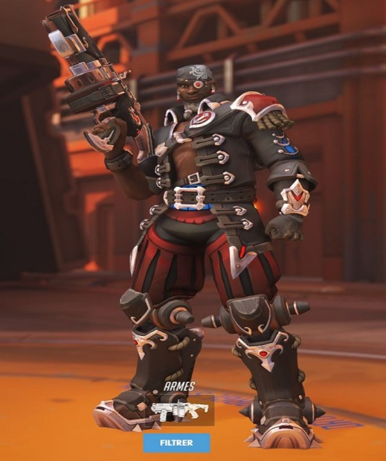 Skin Pirate - Overwatch