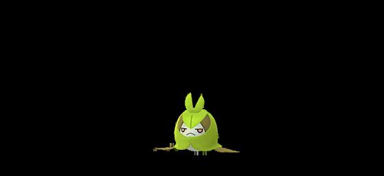 Couverdure shiny - Pokemon GO